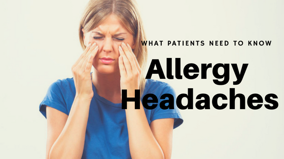 allergy and sinus headaches