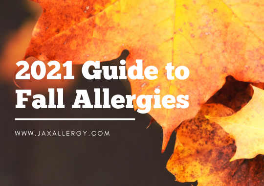 fall allergies guide for Jacksonville 2021